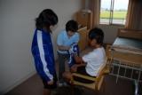 中学生介護実習